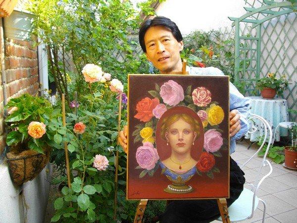 Seiichi artiste peintre
